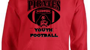 Hoodie Pirates Youth Football- Adult/Youth
