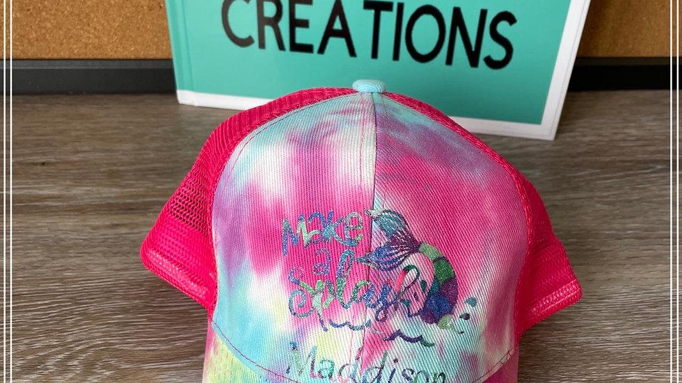 Make a Splash design for hats