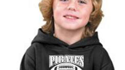 Kids Hoodie Pirates Youth Football