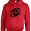 Thumbnail: Dripping Pirate Football Hoodie - Adult/Youth