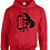 Thumbnail: Hoodie Football w/ Pirate Logo Adult/Youth