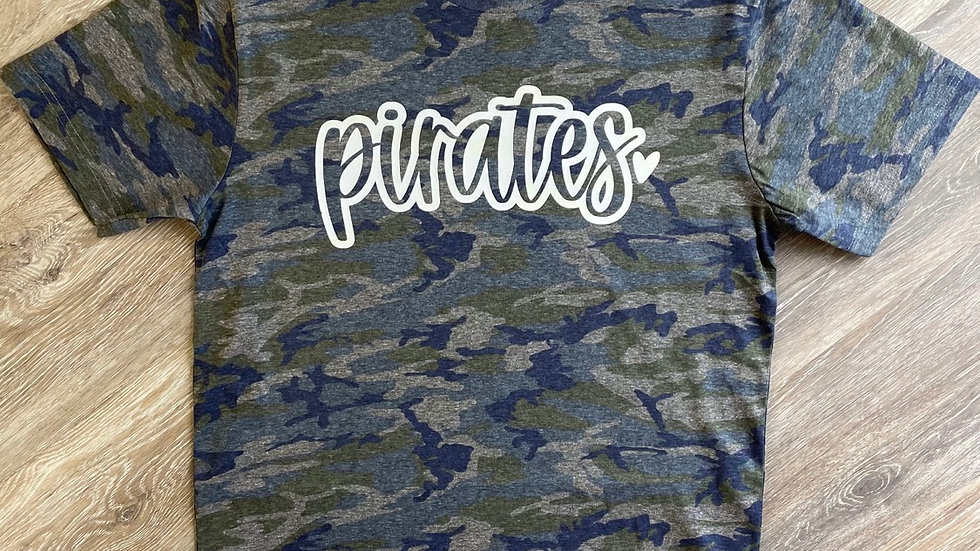 Pirates camo shirt