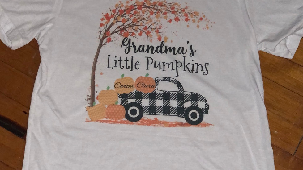 Personalize - Grandma's little pumpkins