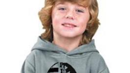 Kids Hoodie Football w/ Pirate Logo