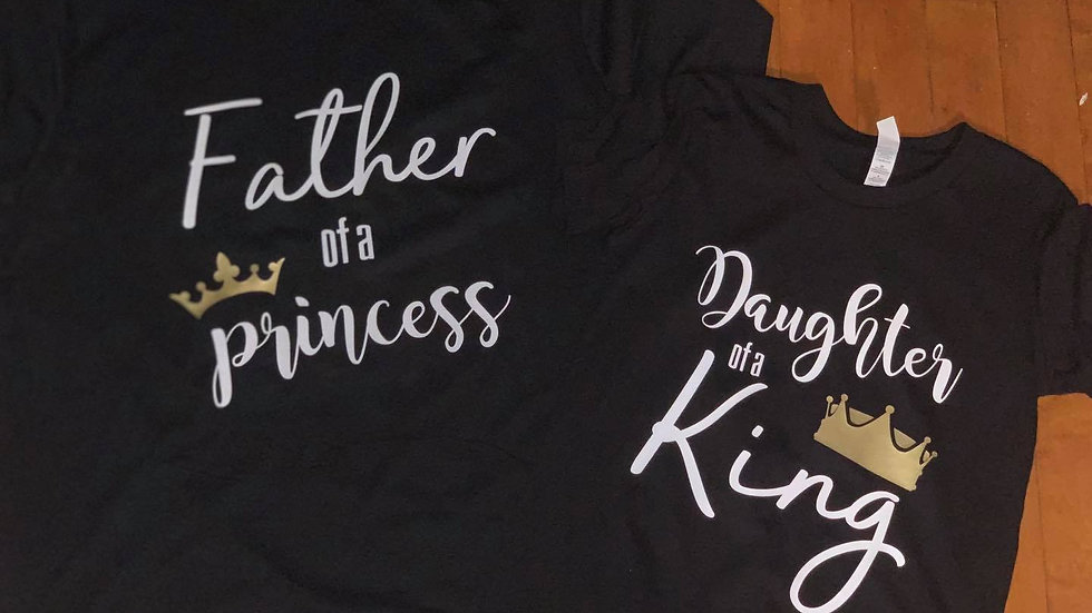 Daddy and Daughter Tees