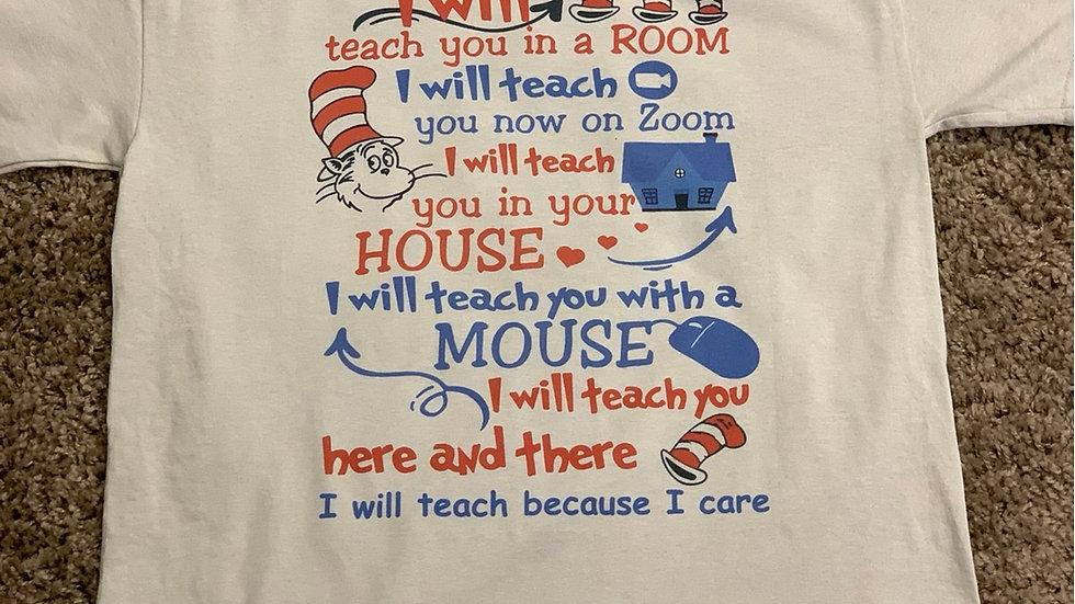 Teach you shirt