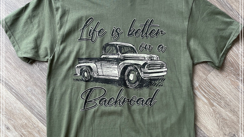 Life is better on a backroad