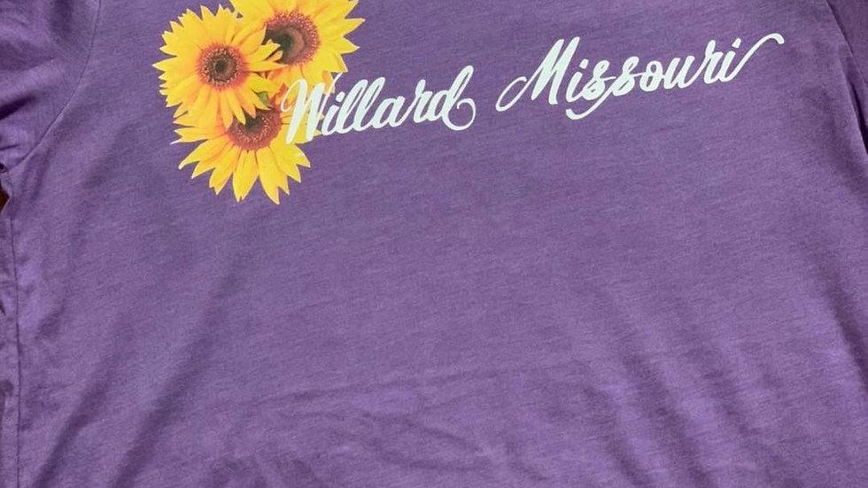 Willard Missouri Sunflower Tee