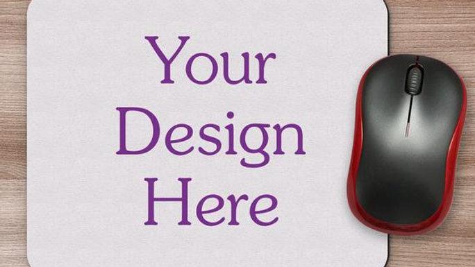 Customize mouse pad