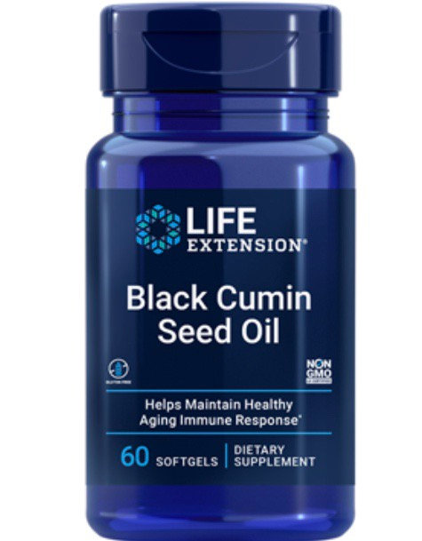 Black Cumin Seed Oil (60 Softgels)