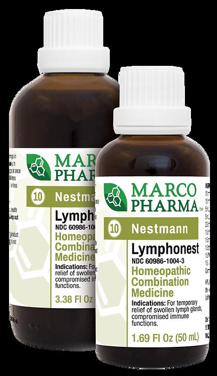 Lymphonest No. 10 Homeopathic Medicine (1.69oz)