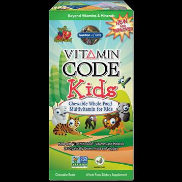 Vitamin Code Kids Chewable Multi (30 tabs)