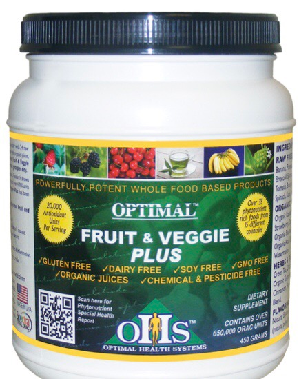 Optimal  Fruit and Veggie Plus (30 Servings)