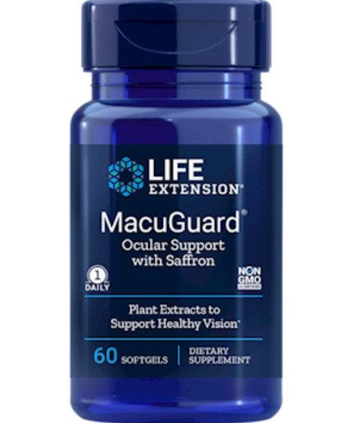 MacuGuard Ocu Supp w/ Saff 60 softgels