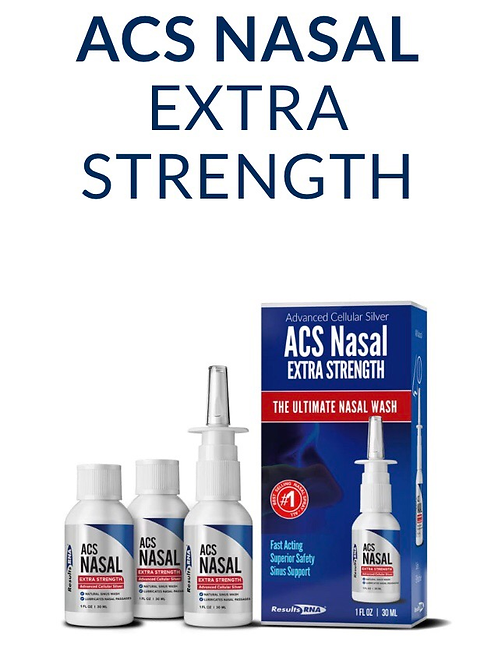 ACS Silver Extra Strength Nasal Spray (1 oz)