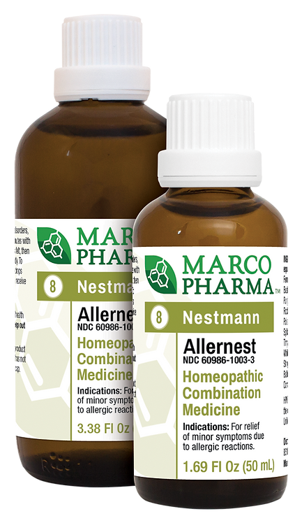 Allernest No. 8 Homeopathic Medicine (3.38 oz)