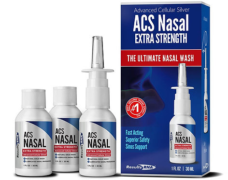 ACS Nasal Extra Strength 3-bottle / 3 oz System