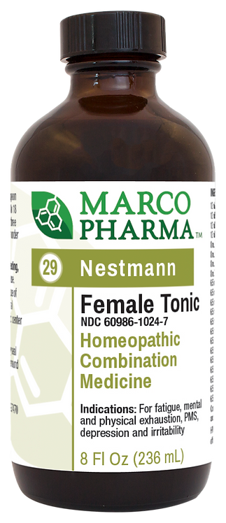 Female Tonic Homeopathic Medicine (8 oz)