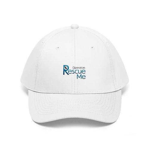Operation Rescue Me Unisex Twill Hat