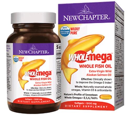Wholemega 1,000 mg (120 softgels)