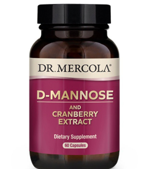 D-Mannose and Cranberry Extract 60 caps