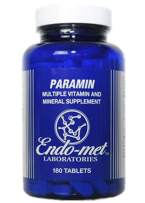 Endo-met Paramin Supplement Tablets (180)
