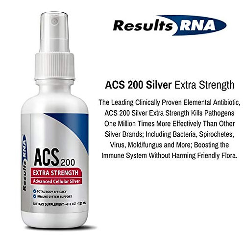 ACS 200 Silver Extra Strength (4 oz)