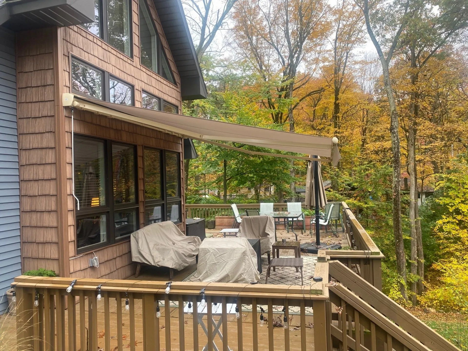Retractable Awning For Deck or Patio | Merrick NY