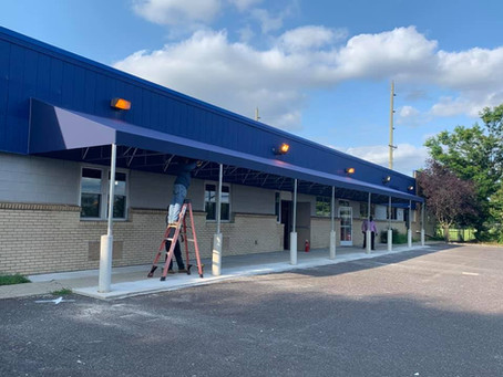 We also do Fixed Awnings for Commercial Properties and Awnings Over Door.