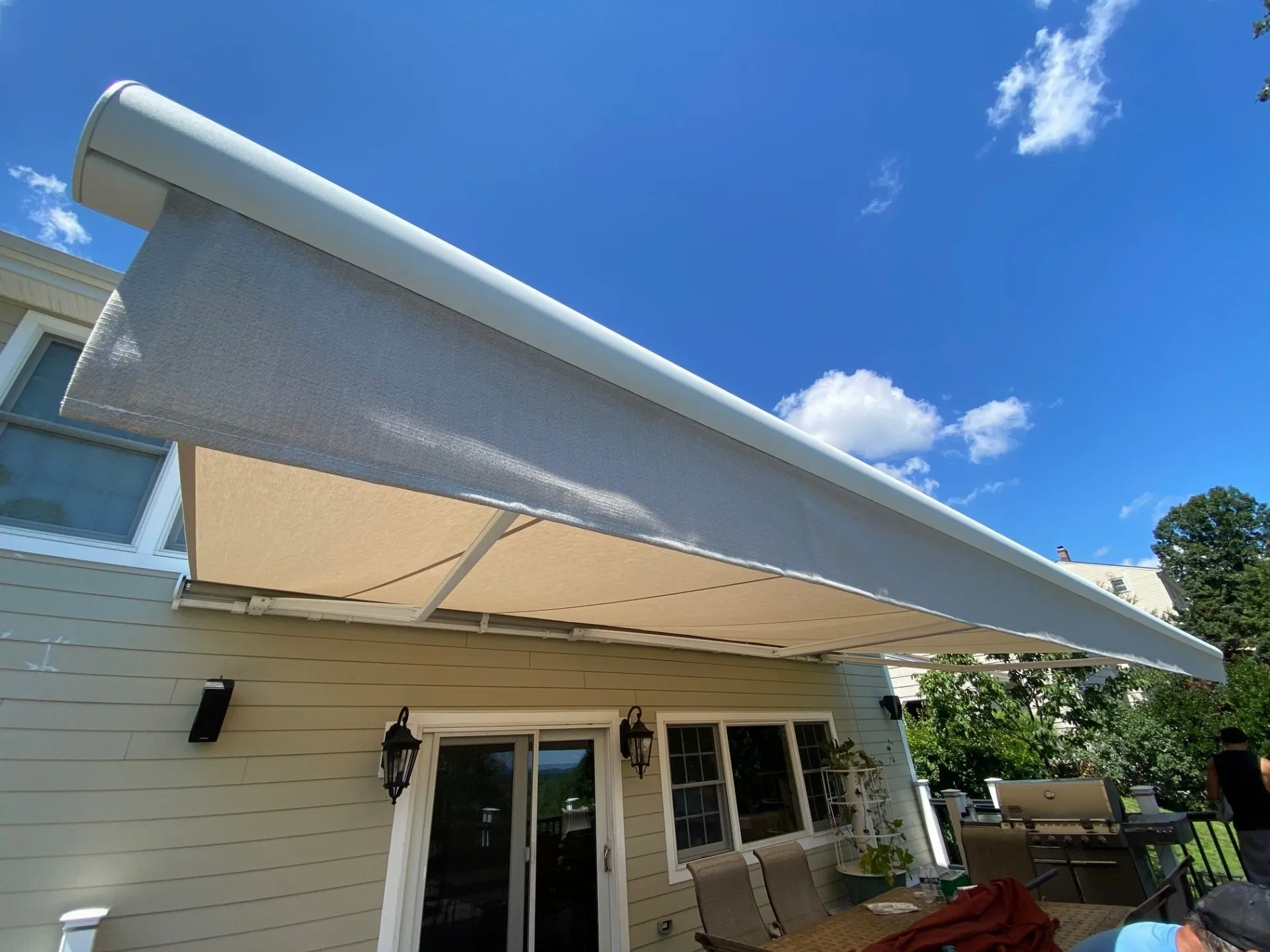 Retractable Awning For Deck or Patio | Teaneck NJ