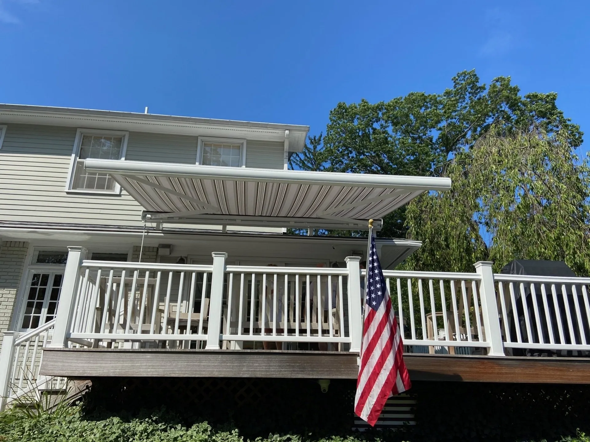Retractable Awning For Deck or Patio | Freeport NY