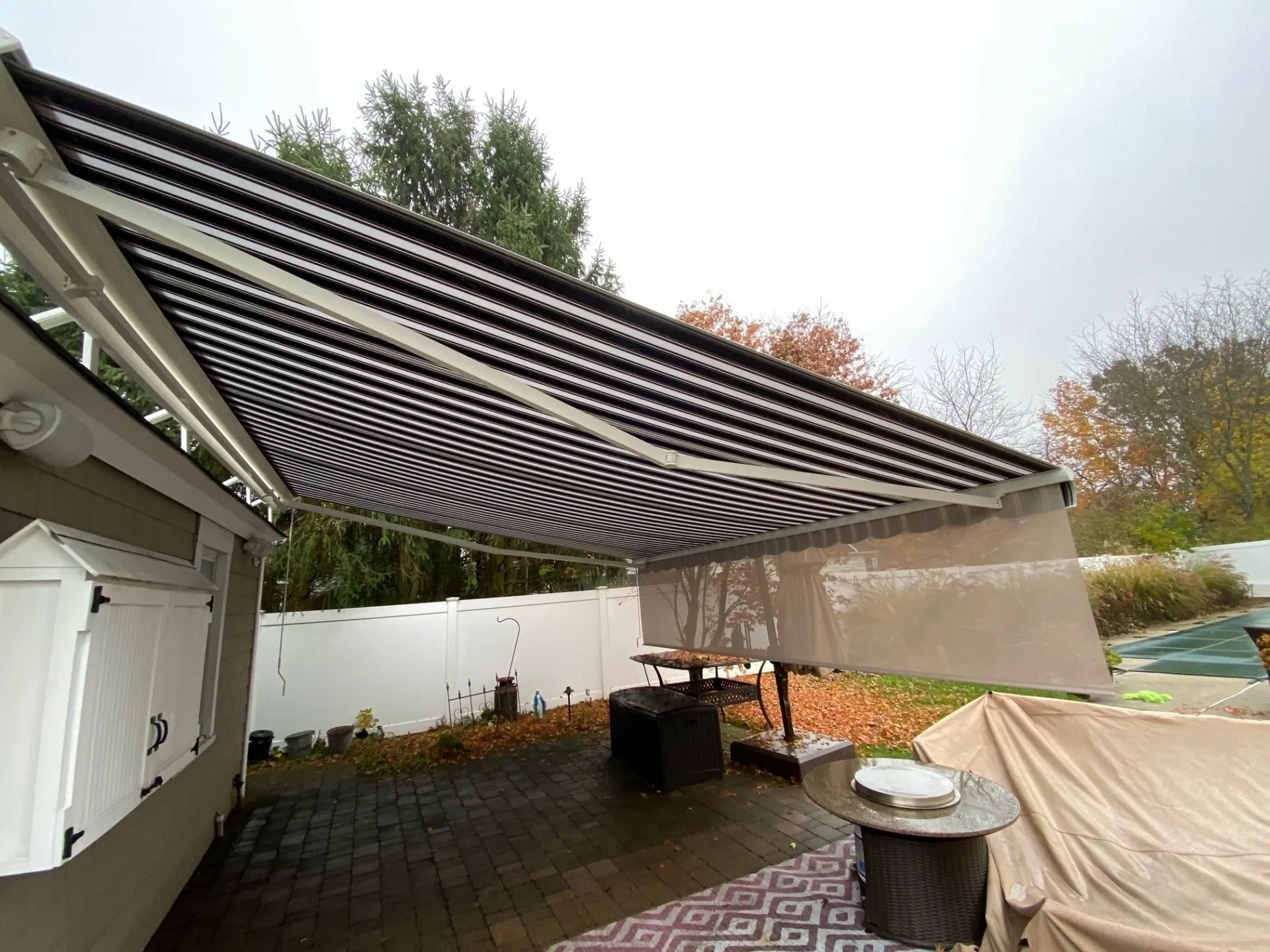 Retractable Awning For Deck or Patio | Franklin Lakes NJ