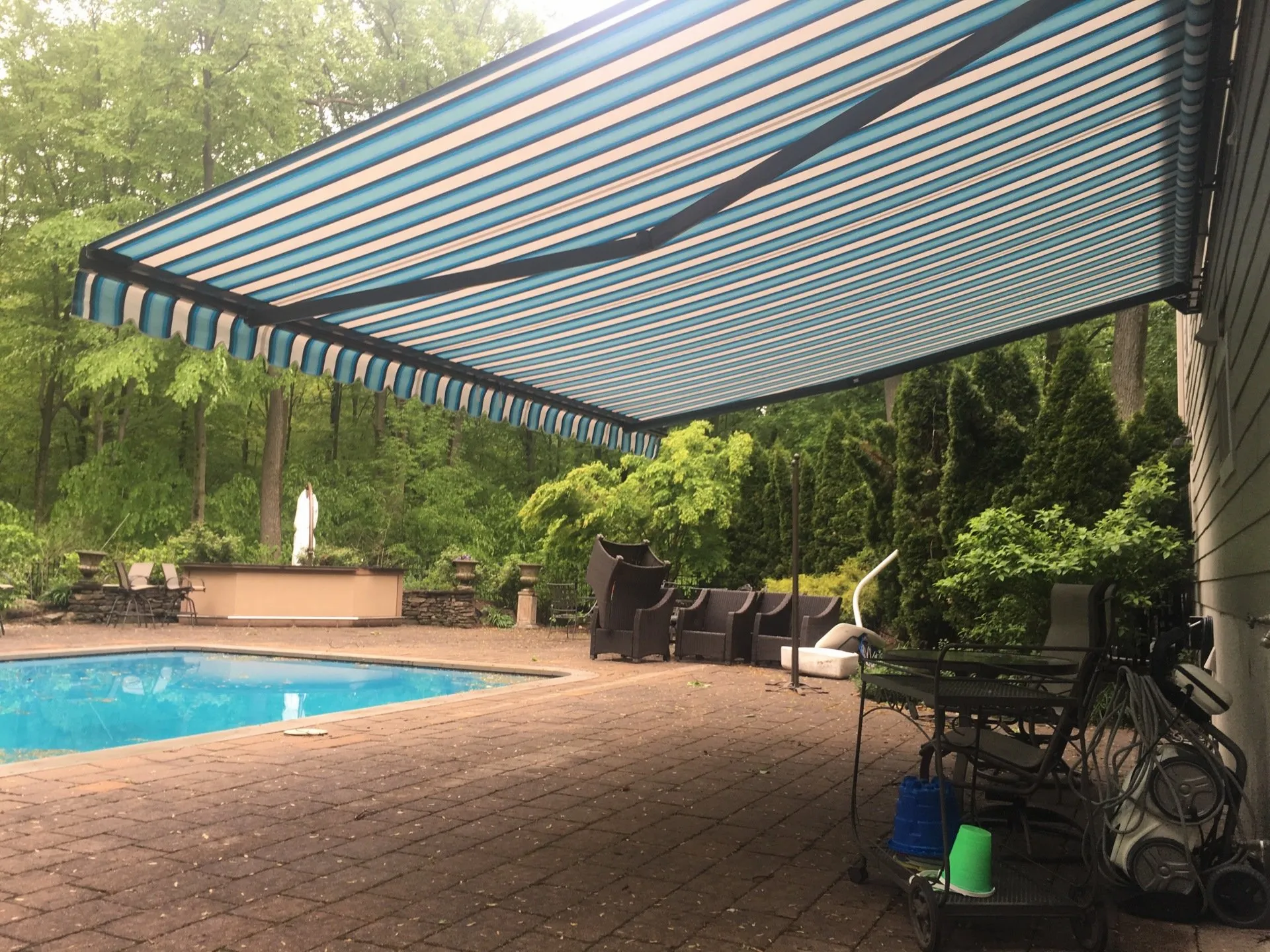 Retractable Awning For Deck or Patio   Ramsey Nj