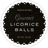 MARTHA BY MAIL PRODUCT LABEL Martha Stewart Living Omnimedia