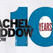 MSNBC The Rachel Maddow Show -  10 year Anniversary logo