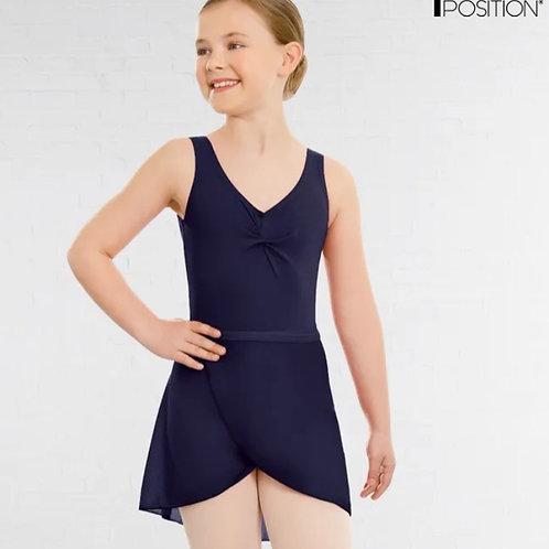 Navy Wrapover Ballet Skirt (Year 5 upwards)