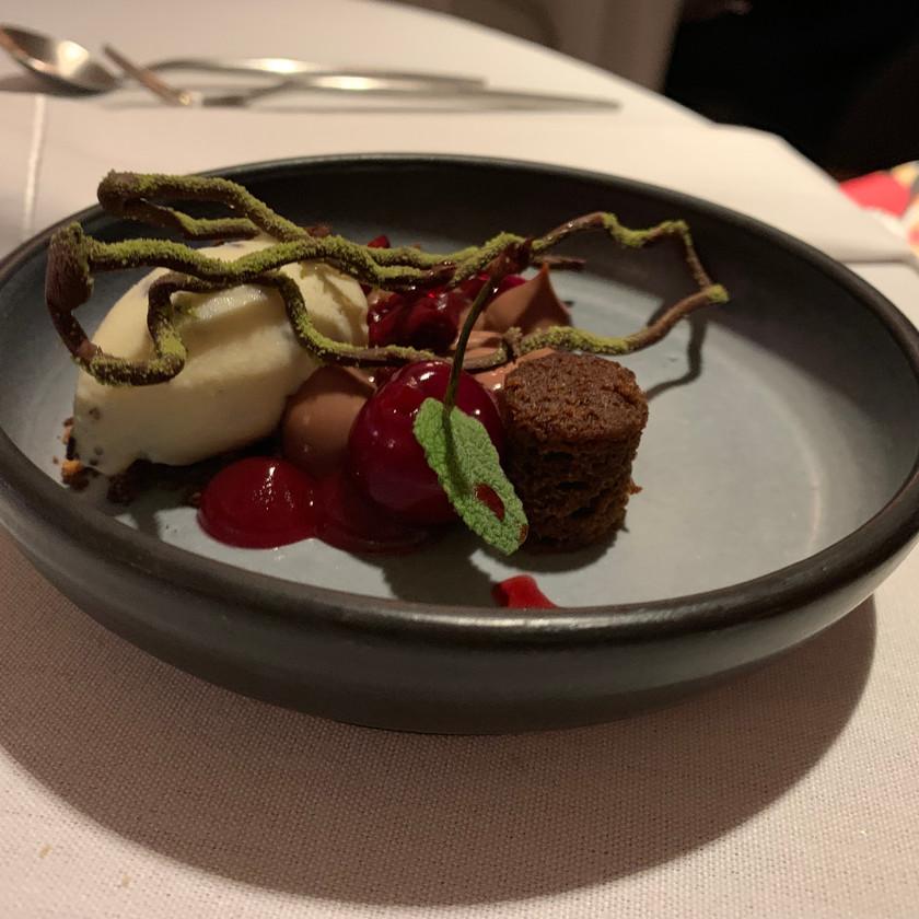 Cherry, Bahibe Milk Chocolate, Stracciatella