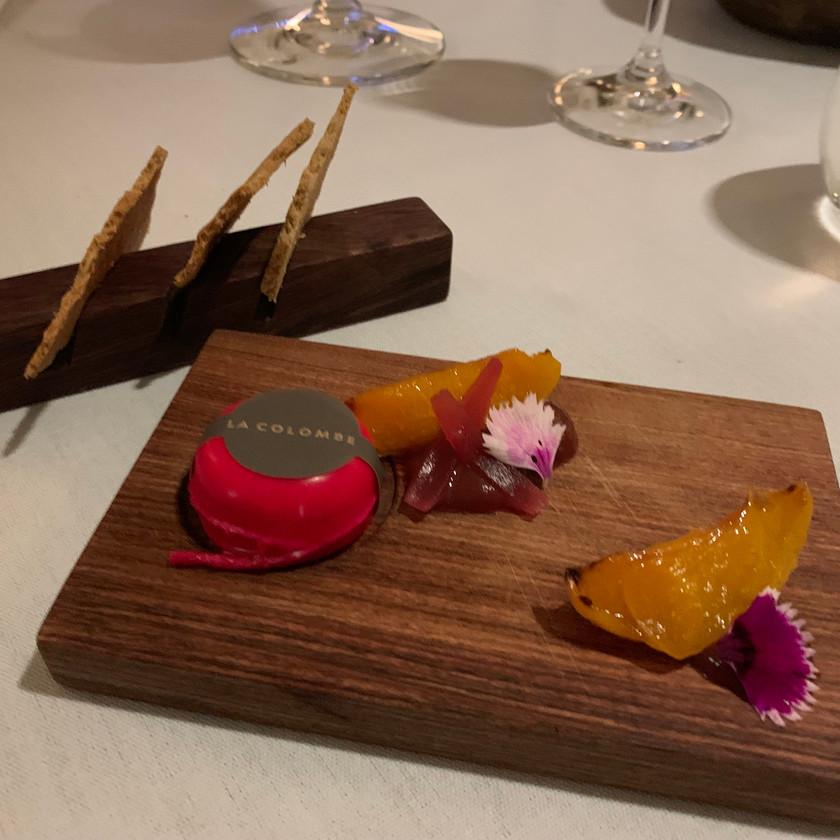 Smoked Gruyere, Apricot , Rhubarb