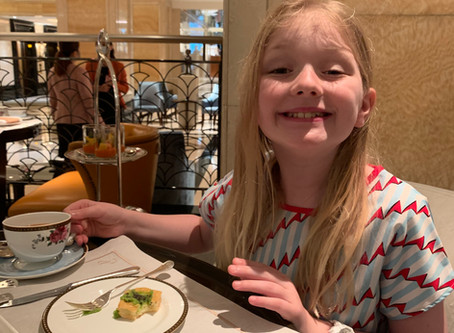 Afternoon Tea at the Palm Court in the Langham – Hong Kong