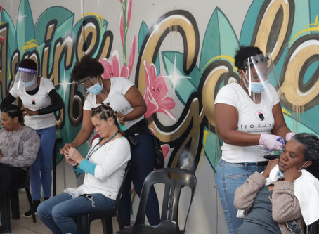 Mandela Day makeovers for street people at Haven Night Shelter