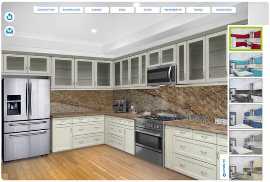 Artinhome Kitchen Visualizer