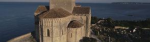 Talmont, Charente maritime église sainte radegonde, 12eme siècle, architecture romane