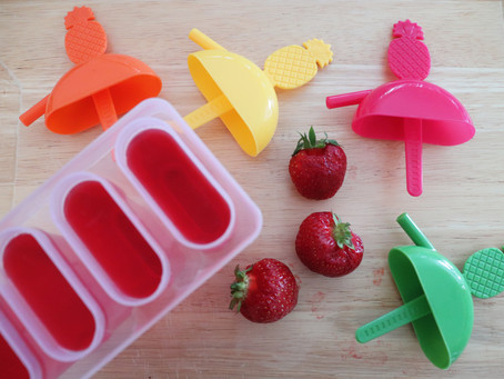 Easy 4 Ingredient Jell-O Wine Popsicles