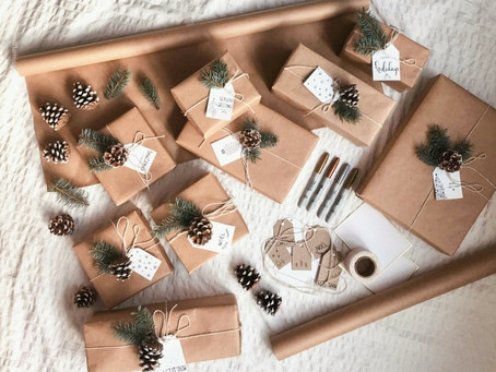 The Easiest DIY Holiday Gift Wrapping