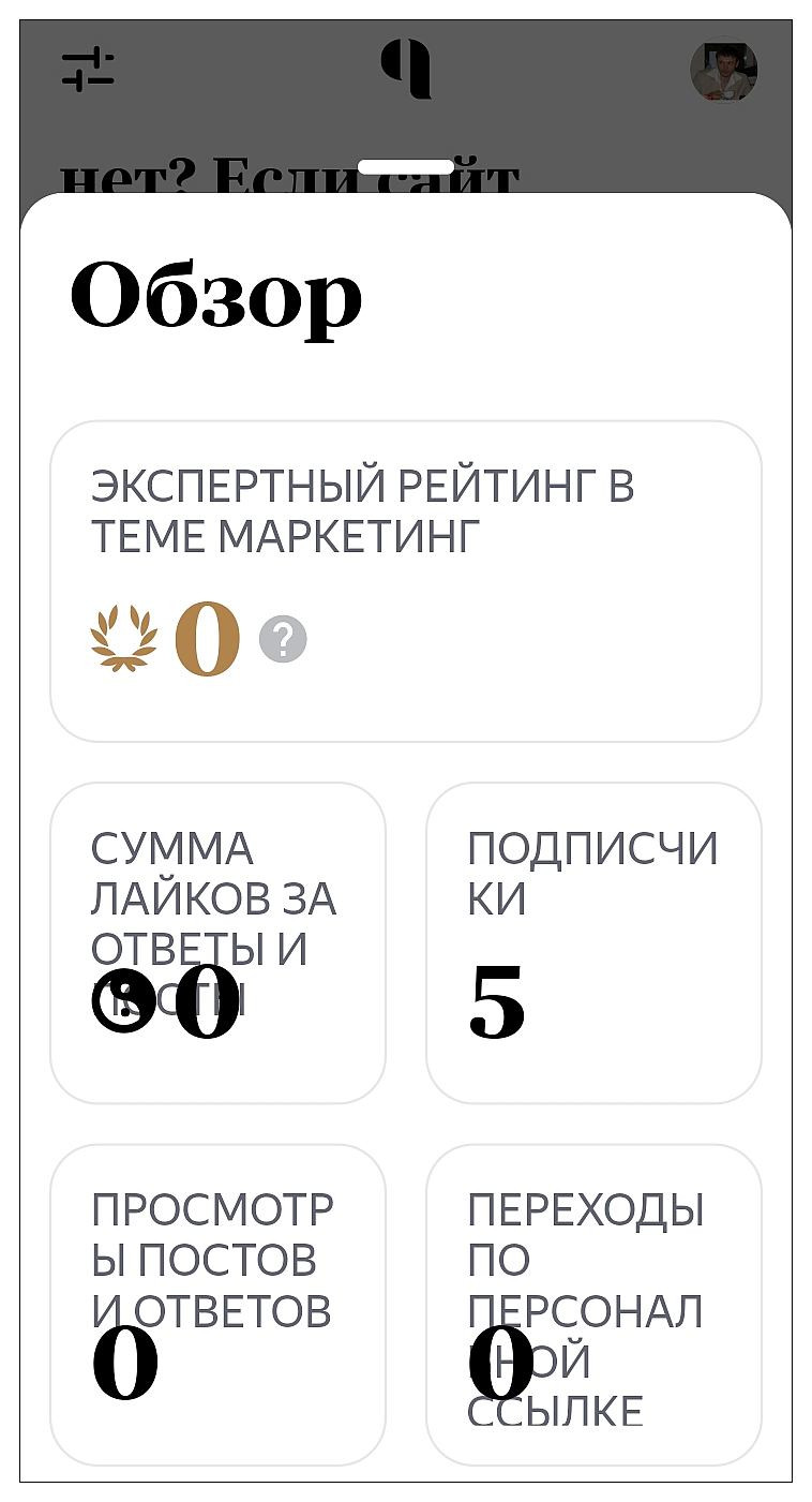 Неудобное мобильное приложение Яндекс.Кью