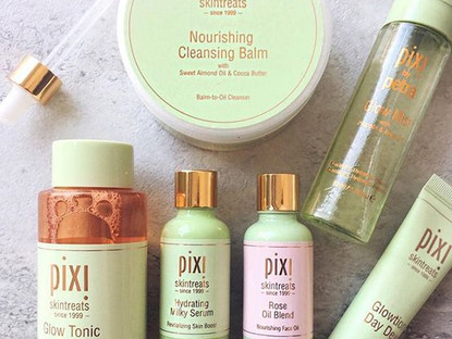 Keep your skin glowing through winter with Pixi !