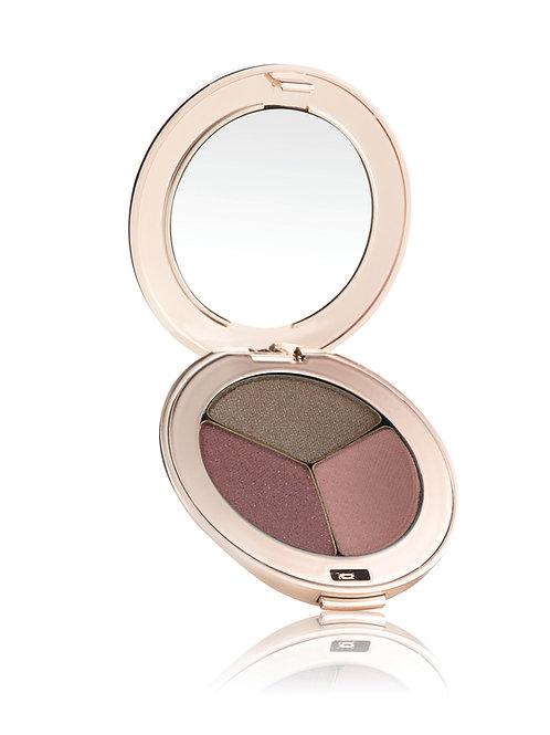 Jane Iredale PurePressed Eyeshadow Triple - Soft Kiss