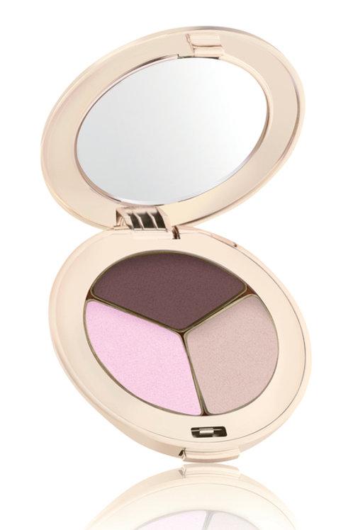 Jane Iredele PurePressed Eyeshadow Triple -Pink Bliss