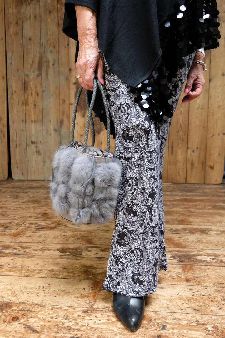 Grey Fluffy Bag & Paisly Flares.jpg