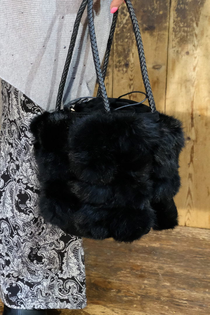 Black fluffy bag.jpeg